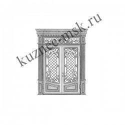 Эксклюзивный дизайн кованых дверей