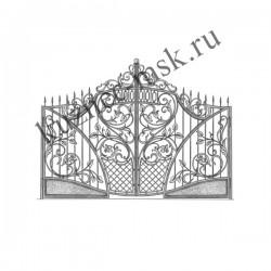 Эксклюзивный дизайн кованых ворот