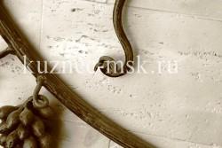 Кованые перила виноградная лоза фото №8