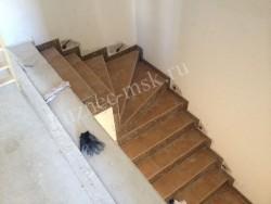 Лестница в день замера