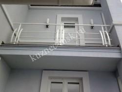 Сварное балконное ограждение для второго этажа