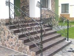 Перила для лестницы крыльца кованые