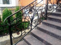 Ковка на гранитной лестнице