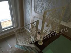Столбы для кованых перил, ручная сборка