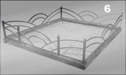 Ритуальная оградка на могилу