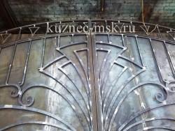 Кузнечный цех фото №10 - кованые ворота зачистка