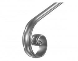 Кованое окончание для металлического поручня - 2500 руб./шт.