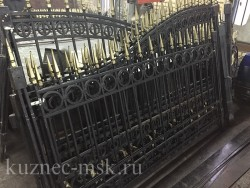 Ворота и секции забора подготовка к горячему цинкованию